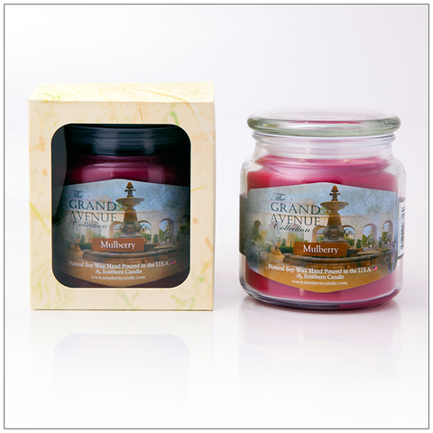 Cranberry Marmalade - 16oz Decorator Jar Scented Candle