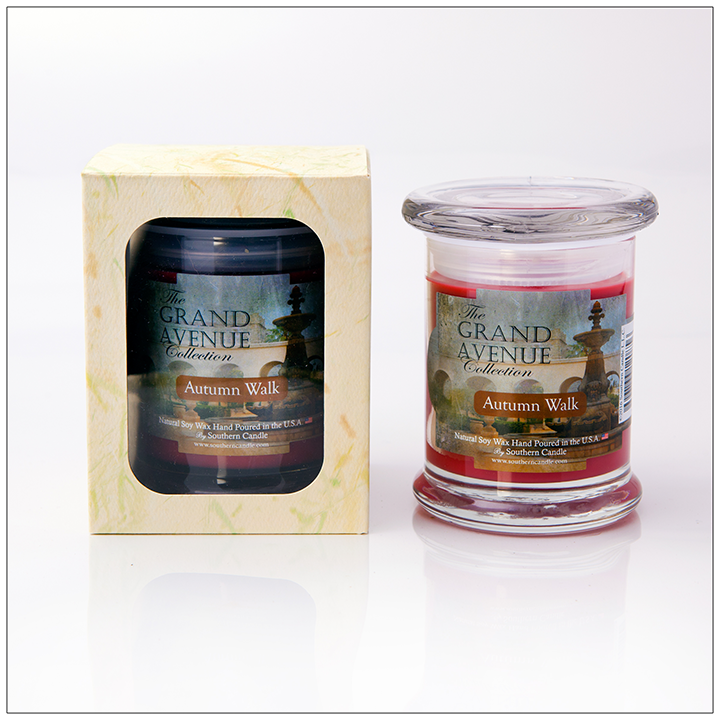 Autumn Walk - 8oz Classic Jar Scented Candle - Southern Candle