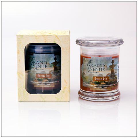 Apple Cider - 16oz Decorator Jar Natural Soy Wax Scented Candle