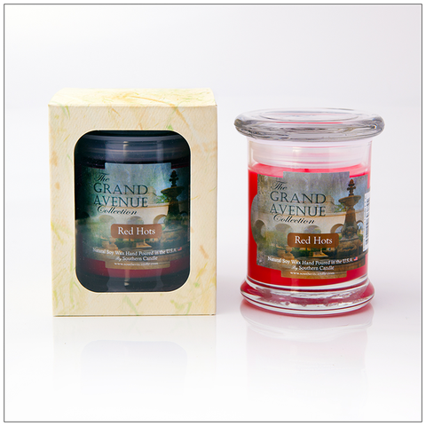 Red Hots - 16oz Decorator Jar Scented Candle