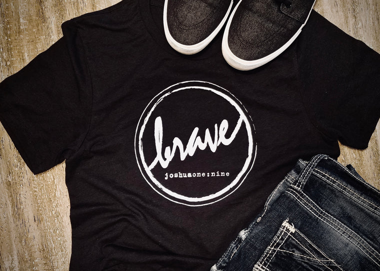 {Brave} • Unisex Fashion Fit Tee • COLOR OPTIONS