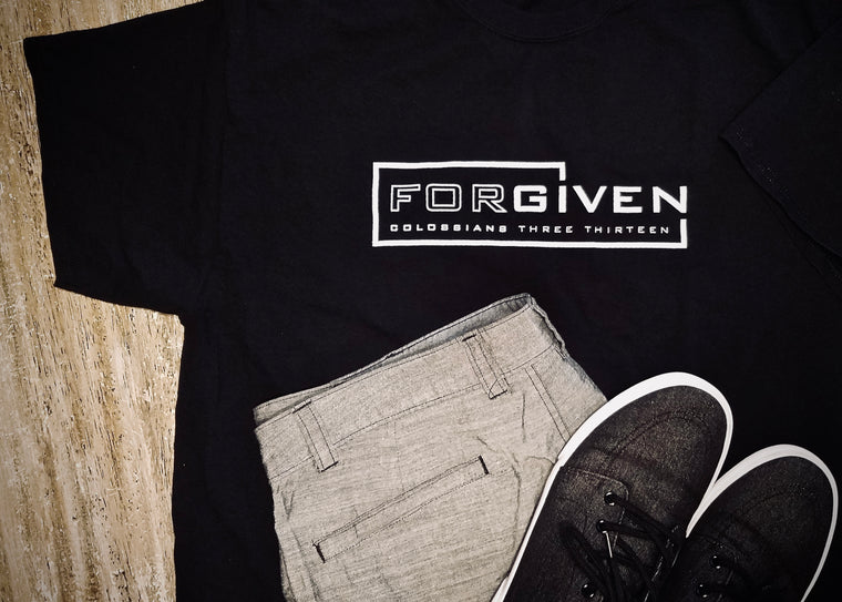 {Forgiven} • Unisex Fashion Fit Tee • COLOR OPTIONS