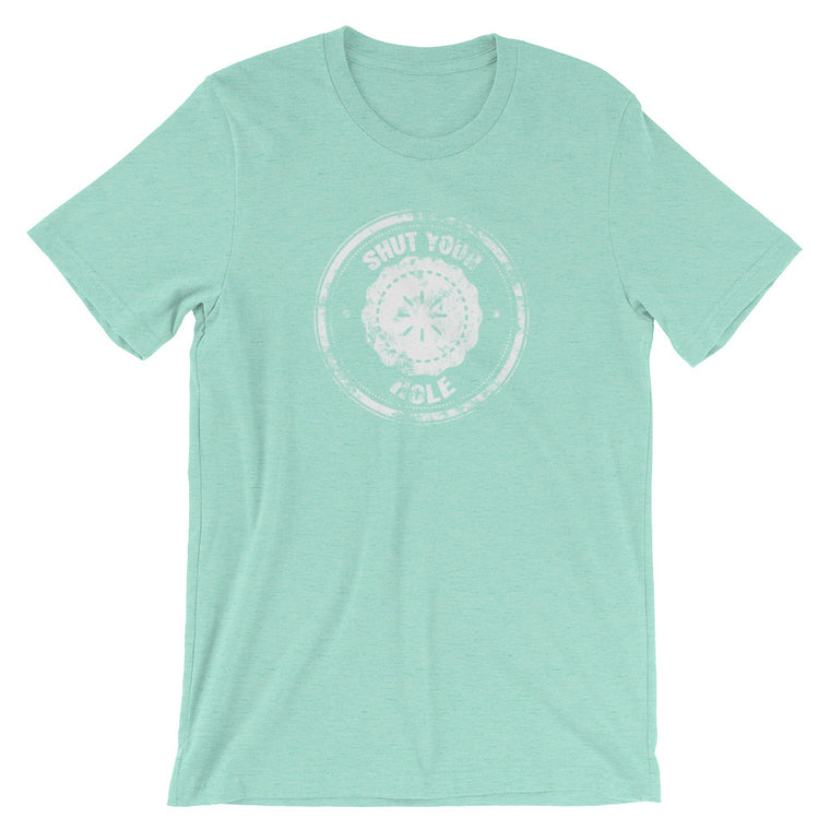 {Pie Hole-Distressed} • Unisex Fashion Fit Tee • COLOR OPTIONS