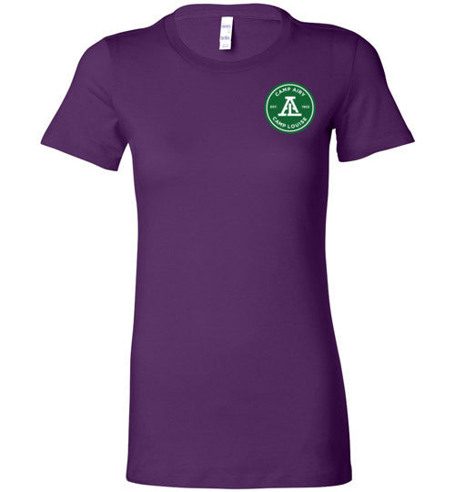 2 Color Mini Logo Women's Short Sleeve T-Shirt