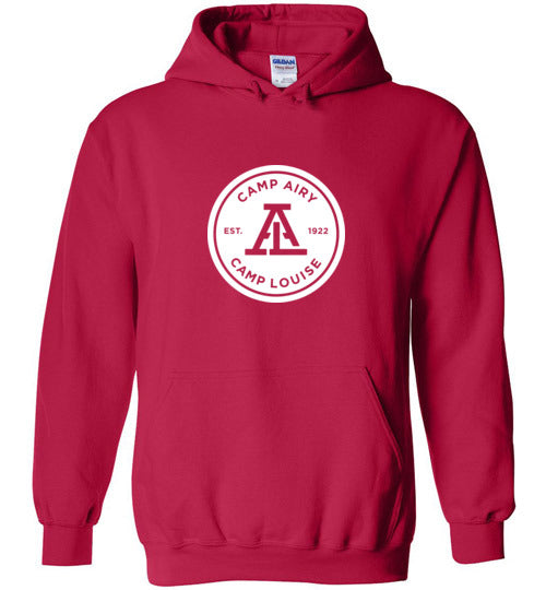 Standard 1 Color Logo Heavy Blend Hoodie Adult