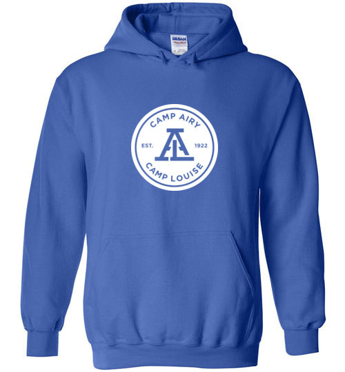 Standard 1 Color Logo Heavy Blend Hoodie Youth