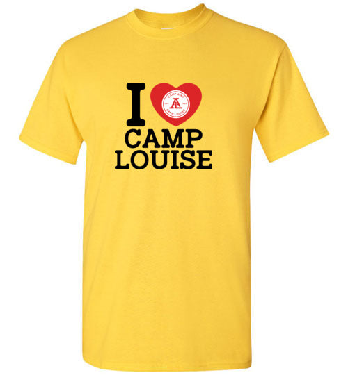 I Heart Camp Louise Short Sleeve T-Shirt Youth