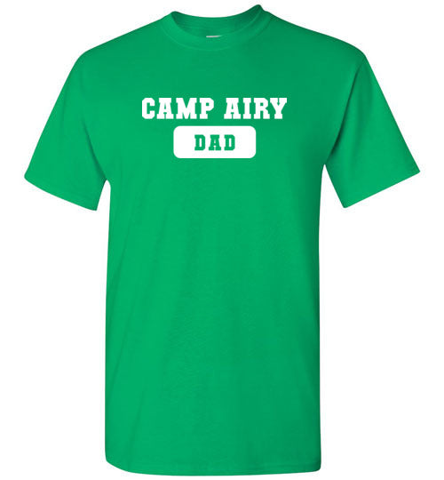 Camp Airy Dad Short Sleeve T-Shirt Adult