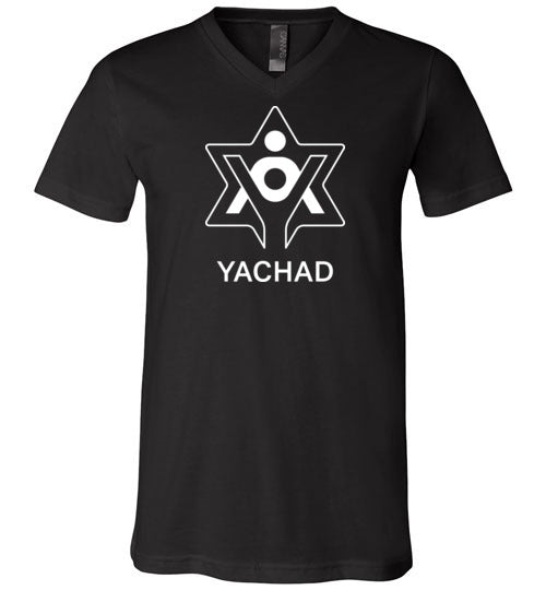 Yachad Bella Canvas Unisex V-Neck T-Shirt
