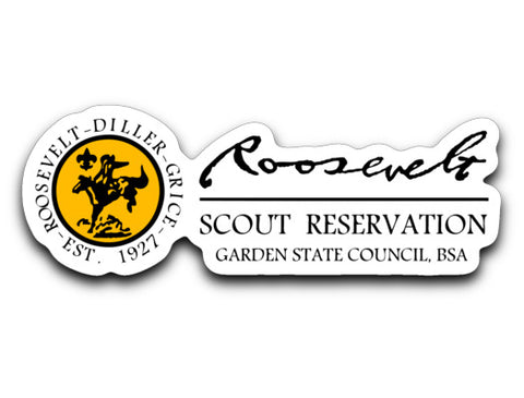 Roosevelt Decal Sticker