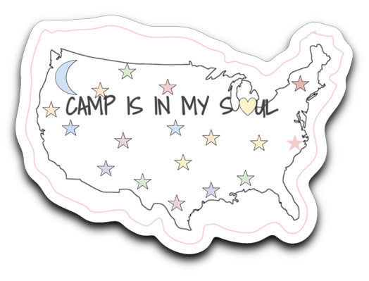 Map Sticker Decal