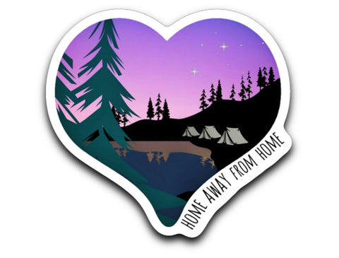 Home Away from Home Sticker Decal