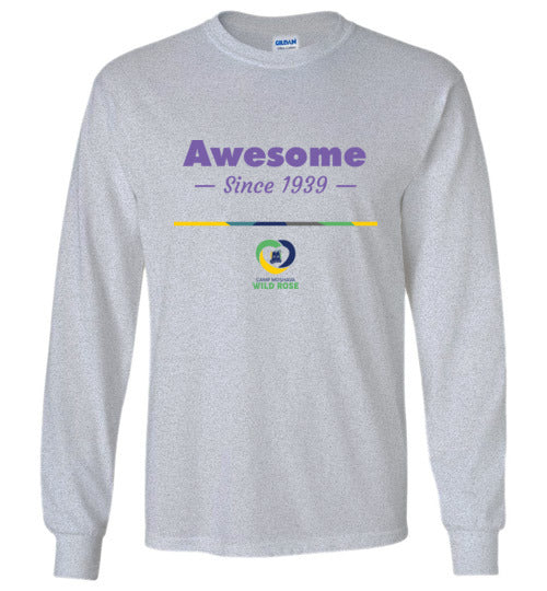 Wild Rose Long Sleeve T-Shirt - Awesome