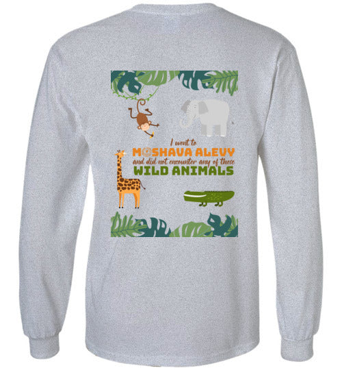 Alevy Long Sleeve T-Shirt - Wild Animals