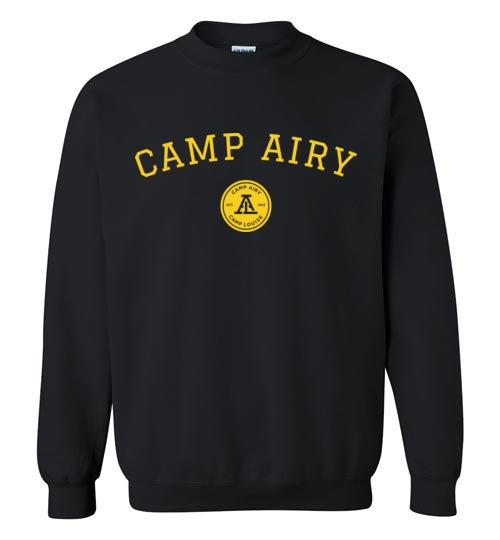 Camp Airy Collegiate Crewneck Sweatshirt Adult