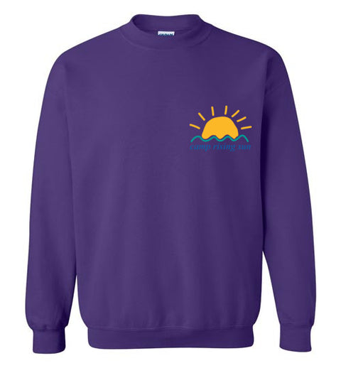 Camp Rising Sun Crewneck Sweatshirt