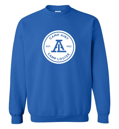 Standard 1 Color Logo Crewneck Sweatshirt Youth