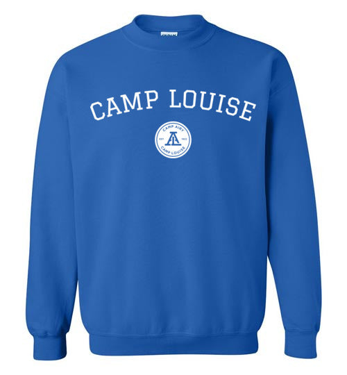 Camp Louise Collegiate Crewneck Sweatshirt Youth