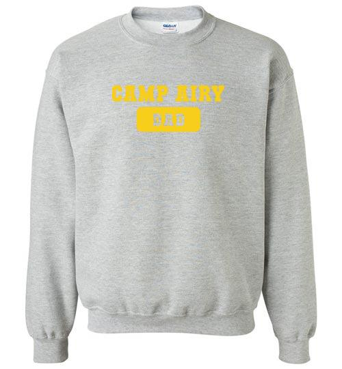 Camp Airy Dad Crewneck Sweatshirt Adult