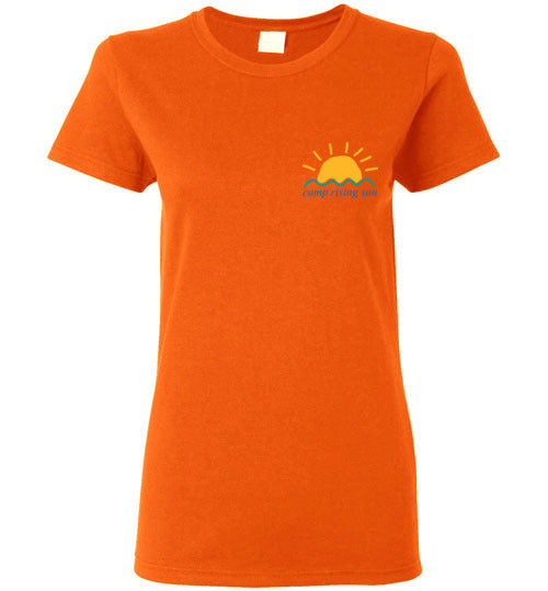 Camp Rising Sun Women's Short-Sleeve T-Shirt