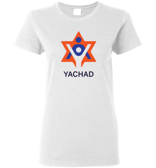 Yachad Women's White T-Shirt