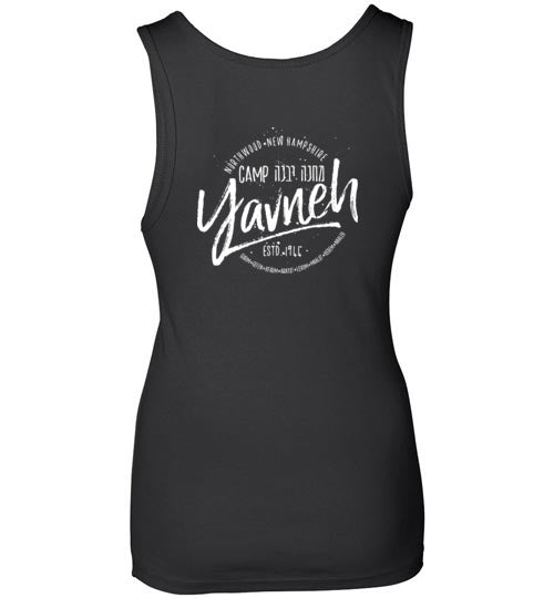Yavneh Next Level Women's Jersey Tank Top - Medallion 2-Sided