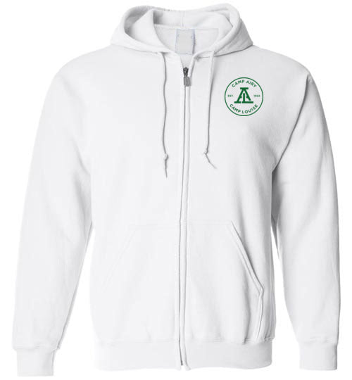 Shabbat Zip Hoodie Emblem Youth & Adult