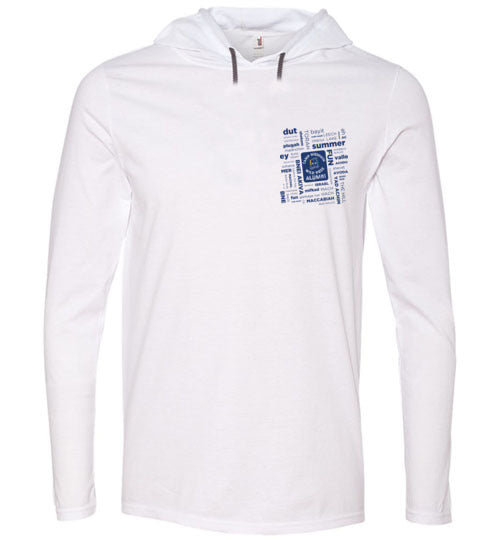 Wild Rose Alumni Collage Long Sleeve Hooded T-Shirt