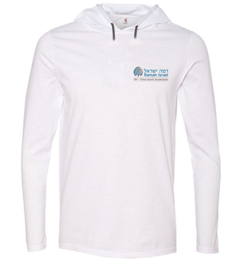 Ramah Israel TRY Long Sleeve Hooded T-Shirt Traditional Logo