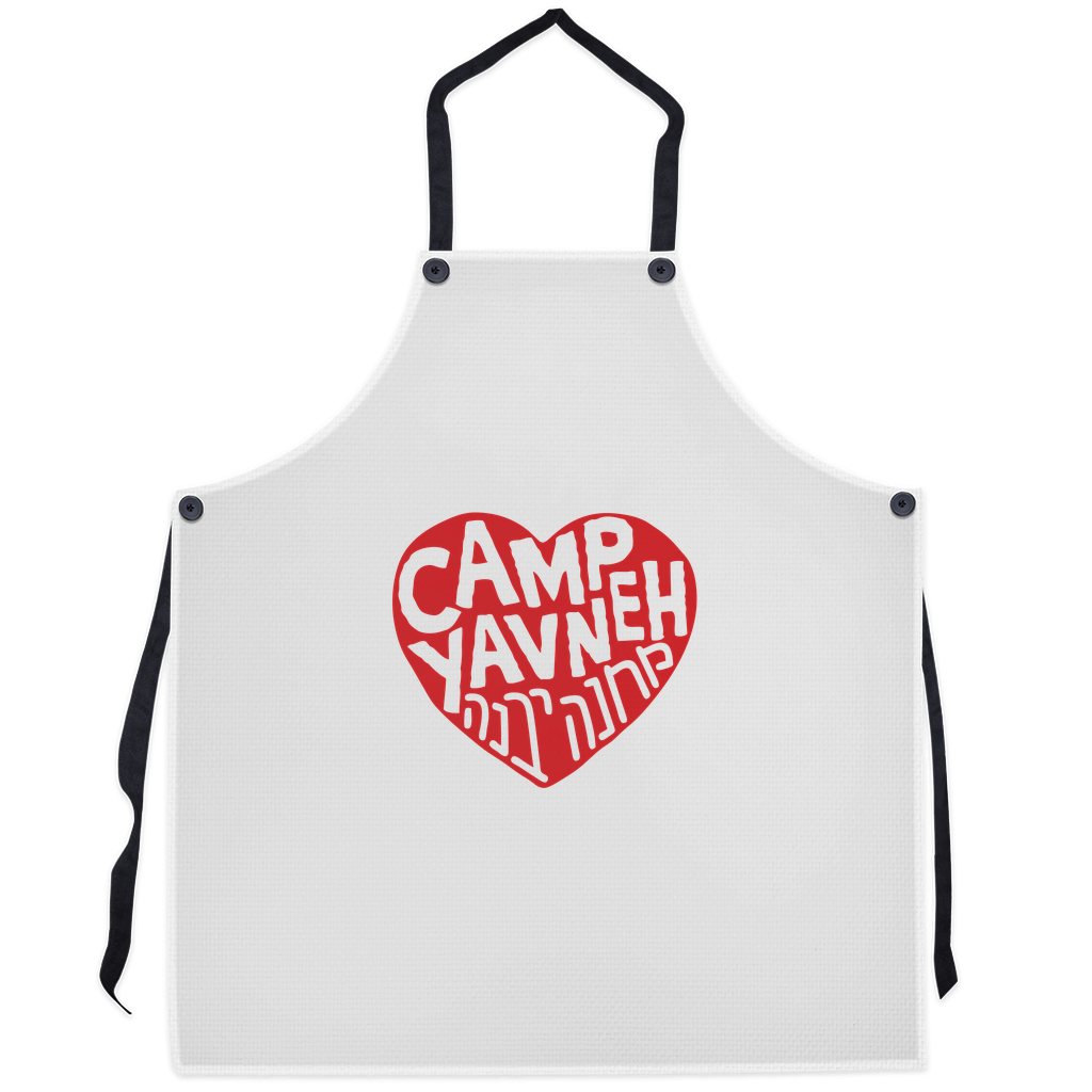 Yavneh Apron - Red Heart Sticker