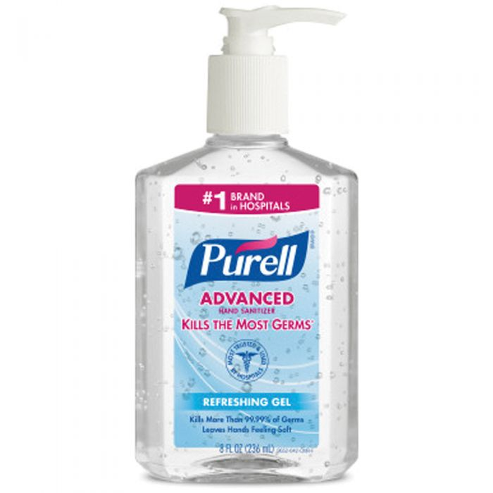 Purell Hand Sanitizer 8 oz