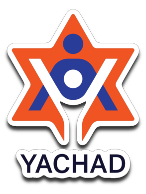 Yachad Sticker Decal