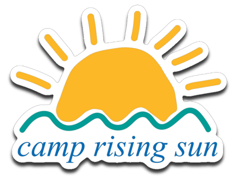Camp Rising Sun Sticker Decal