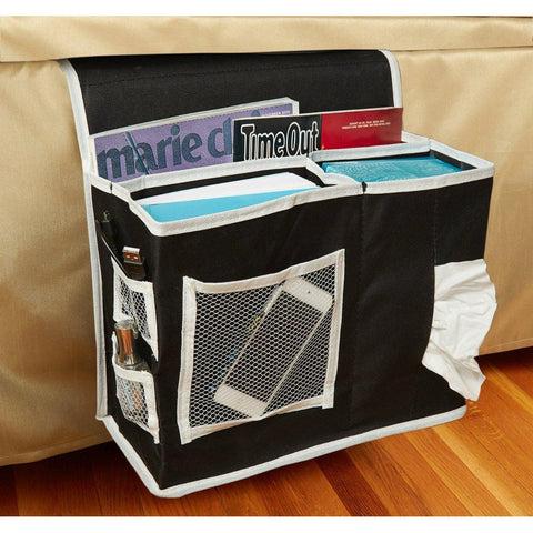 Bedside Caddy Storage Organizer