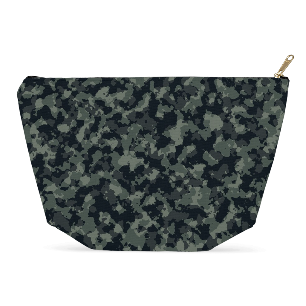 Camouflage All-Purpose Bag - Pencil Case, Toiletries, Accessories