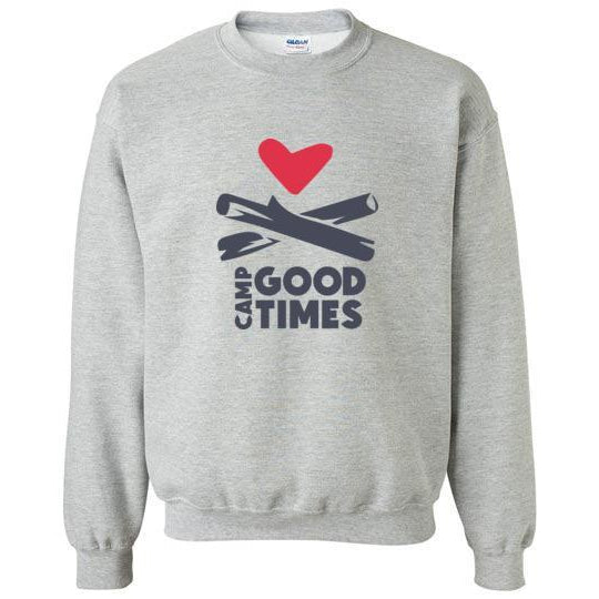 Camp Goodtimes Crewneck Sweatshirt - Color Logo