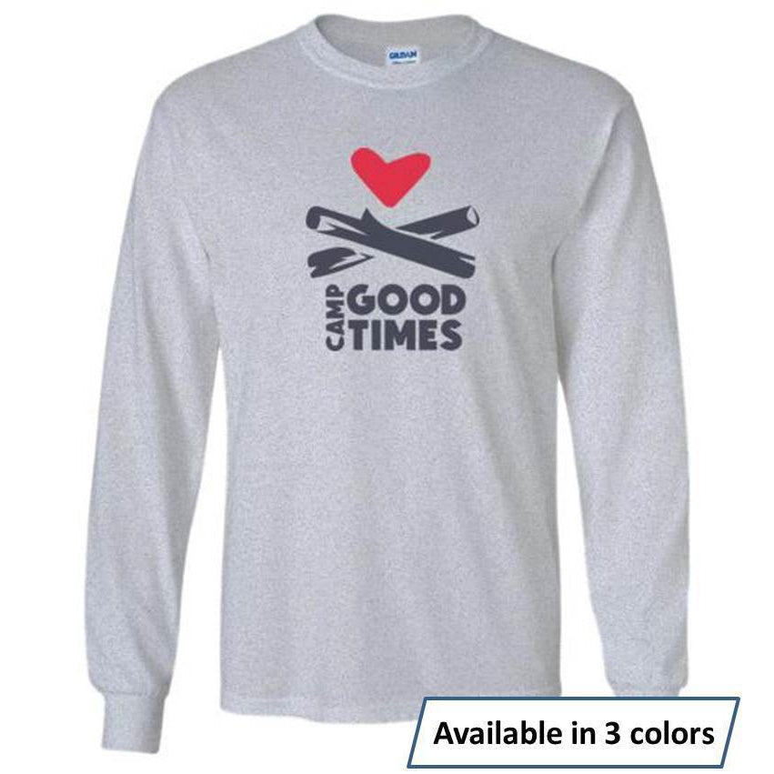 Camp Goodtimes Long-Sleeve T-Shirt - Color Logo