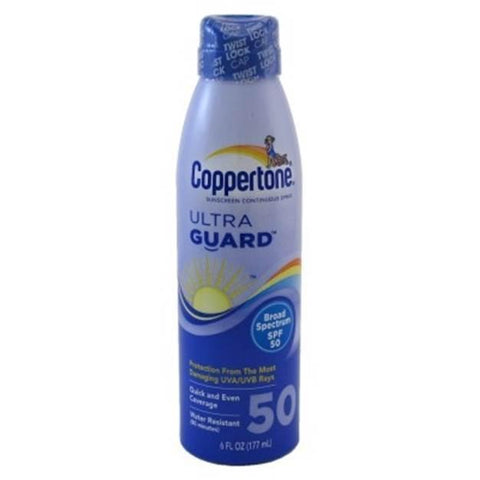 Coppertone Sunscreen Spray SPF#50