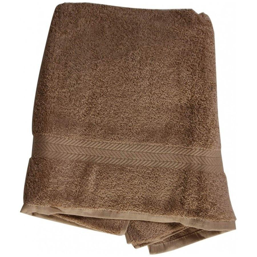 "Bath/Pool 100% Cotton Towel 27"" x 52"" taupe"