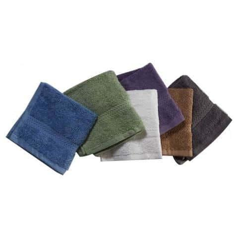 "Washcloth 100% Cotton 12"" x 12"" (2-Pack)"