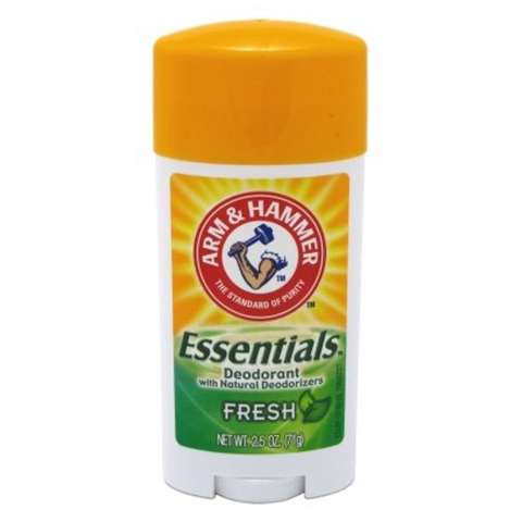 Arm & Hammer Deodorant 2.5oz Essentials Fresh