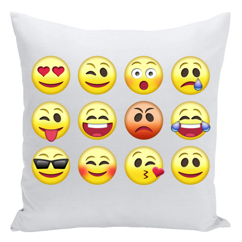 Emoji Autograph Pillow
