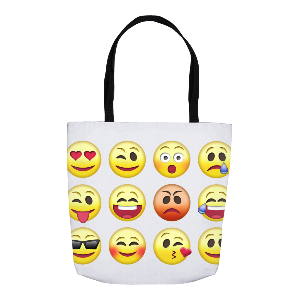 Emoji Swim Bag Tote Bag
