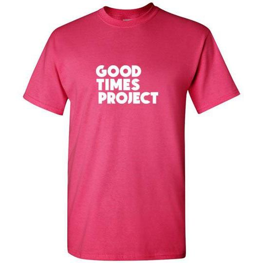 Goodtimes Project Short-Sleeve T-Shirt - White Logo