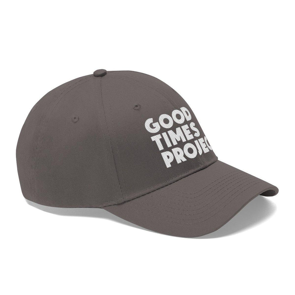 Goodtimes Project Unisex Twill Cap - White Logo
