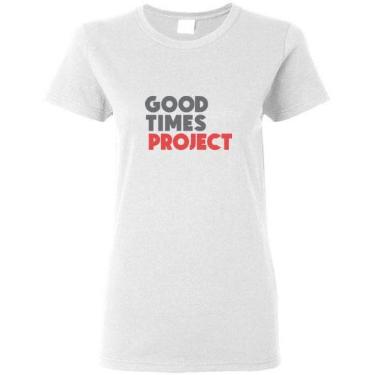 Goodtimes Project Women's Short-Sleeve T-Shirt - Color Logo
