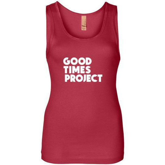 Goodtimes Project Women's Tank - White Logo