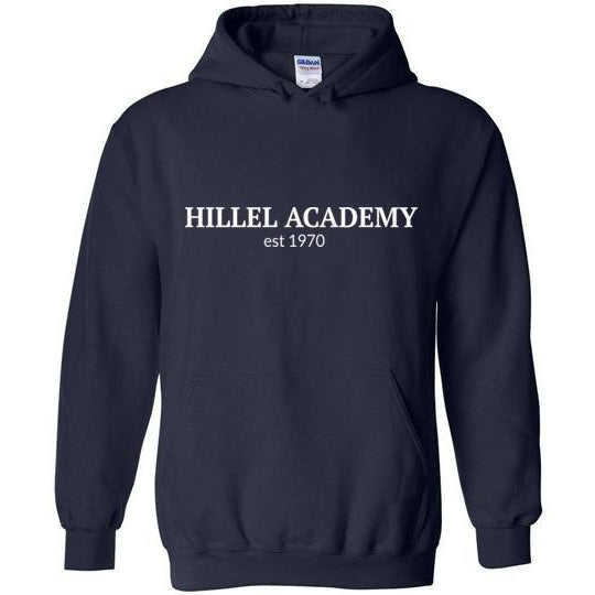 Hillel Academy Navy Pullover Hoodie