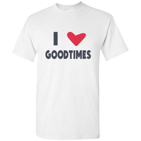 I Heart Goodtimes T-Shirt - Color Logo