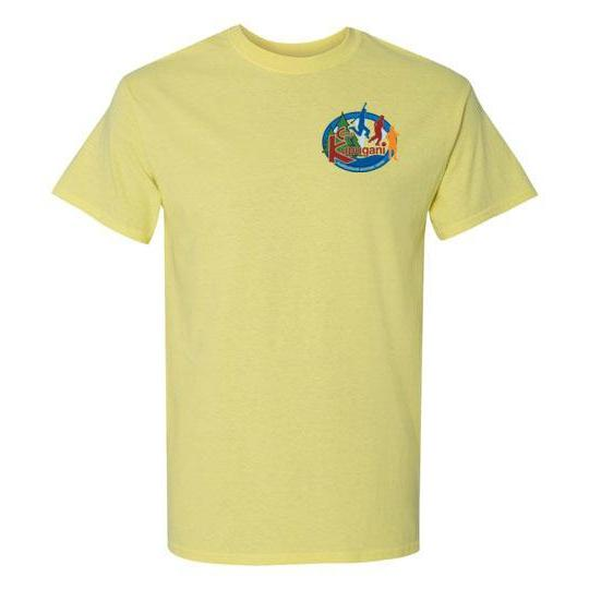 Kupugani Unisex Short-Sleeve Crew Neck T-Shirt - Boys' Oval Logo